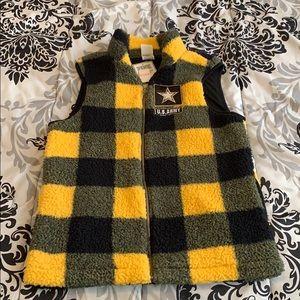 New pink Victoria secret army sweater vest